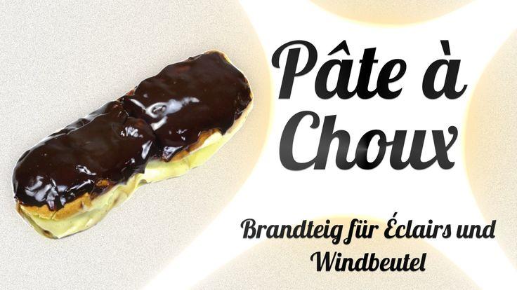 Pâte à Choux - Brandteig für Éclairs und Windbeutel #Pâte à Choux #brandteig #Éclairs #windbeutel #rezept #kochklub #derkochklub
