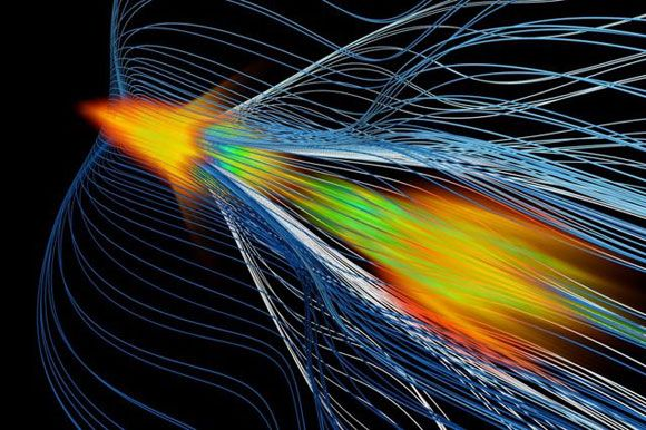 Plasma Wakefield Acceleration Could Enable Smaller Particle Colliders