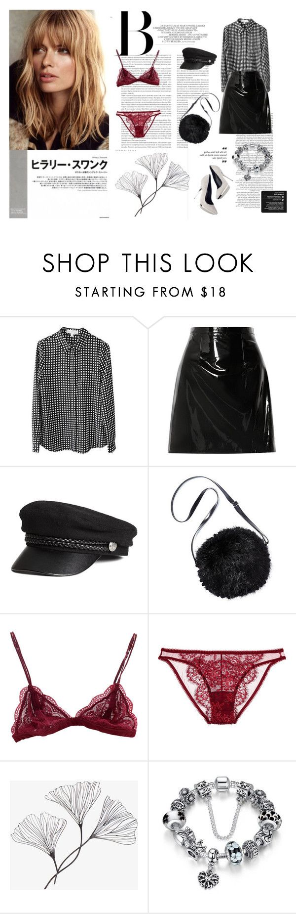 Strong woman by justy-na on Polyvore featuring moda, Finders Keepers, Christopher Kane, I.D. SARRIERI, Posh Girl and Versace