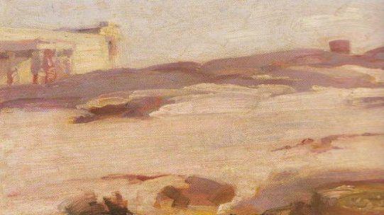 Landscape,Karyatides