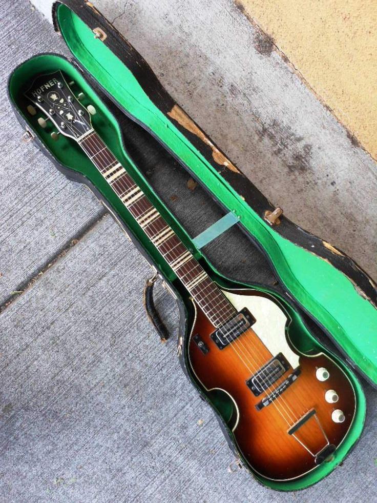 Beatles Guitars: 1960s Hofner Electric Guitar Model 459 Z Beatles Violin