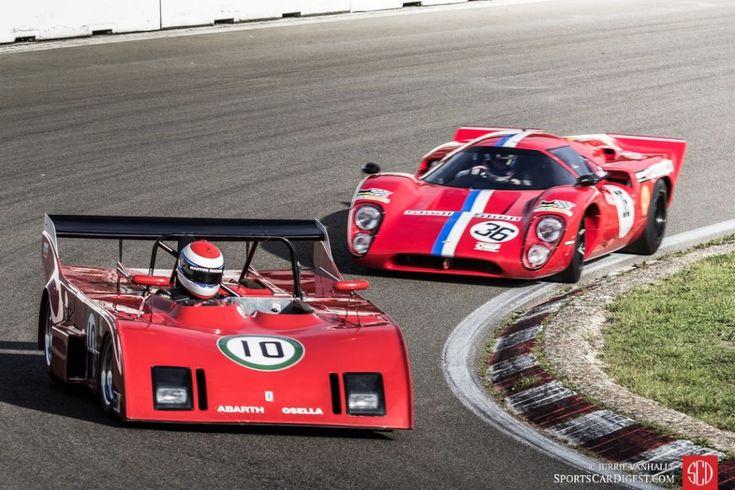 Abarth Osella PA1 and Lola T70 MK3B
