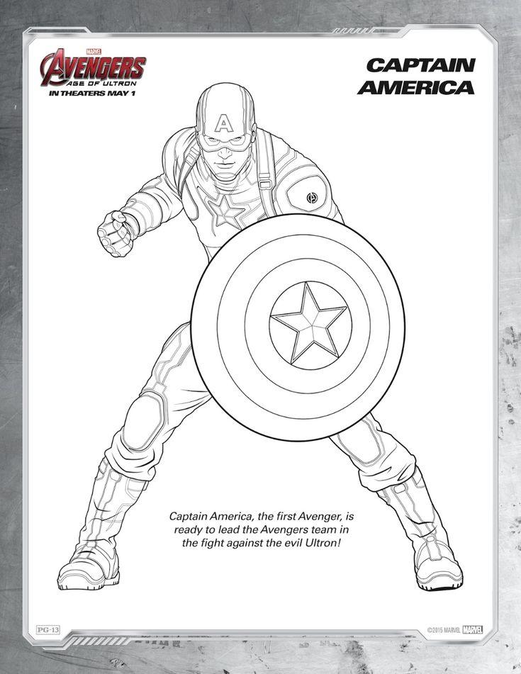 asumalbilder pinterest ausmalbilder avengers  supereroi