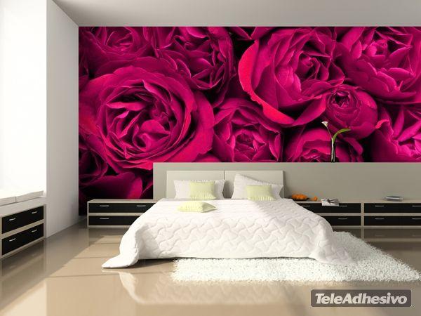 Fototapeten F?r Schlafzimmer : ?ber 1.000 Ideen zu ?Fototapete Blumen auf Pinterest Fototapete