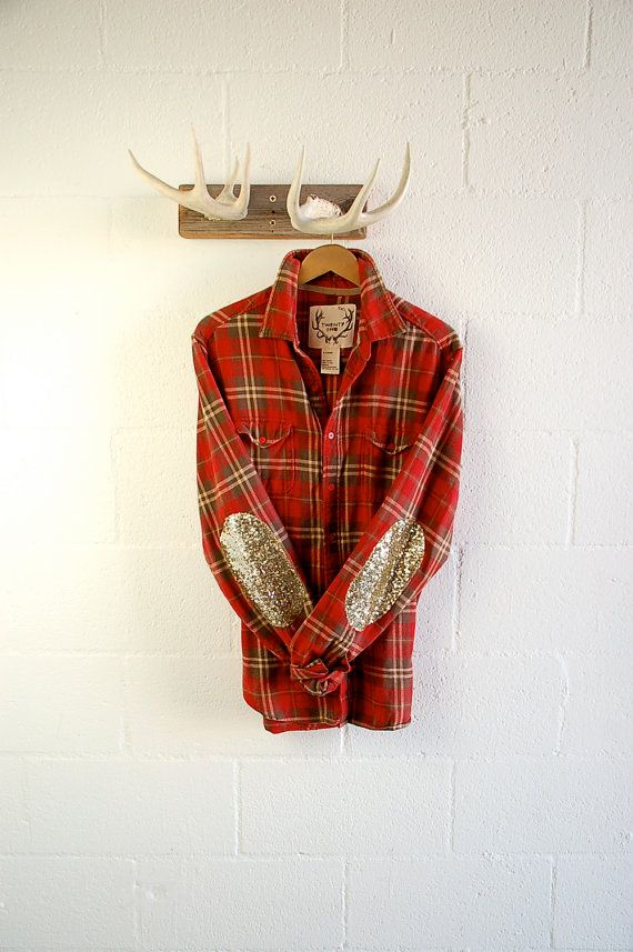 Best 25 sequin shirt ideas on pinterest shirt f r for Mens flannel shirt with elbow patches