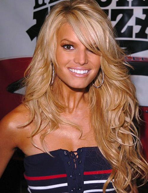 jessica simpson hair styles Best Jessica Simpson Hairstyles  I want this hair.