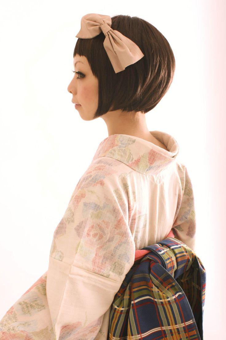 薔薇の紬のレンタル。の画像 | ダリヘアデザイン 高島の靭公園から徒然と