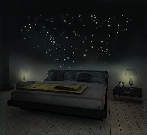 Marvelous  Leuchtpunkte f r Sternenhimmel Fluoreszierend und im Dunkeln leuchtend extra starke Leuchtkraft und lange