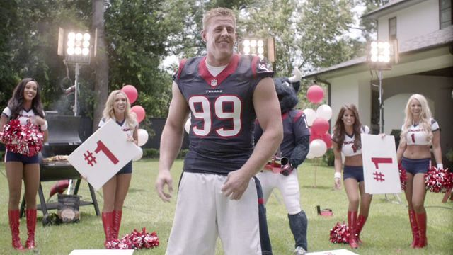 J.J. Watt H-E-B commercial bloopers | Sports  - Home