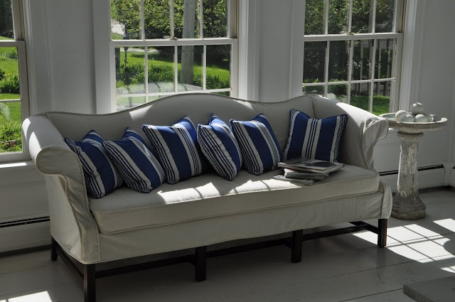 Camelback Sofa With Hemp/linen Slipcover By Alison Seeger | Furniture |  Pinterest | Skjørt Og Sofaer