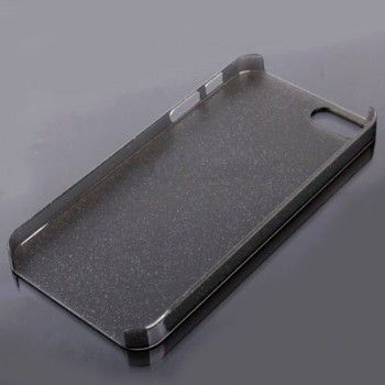 iPhone 5/5S Cases : Crystal Hard Shell for iPhone 5 & 5s - Dark Grey