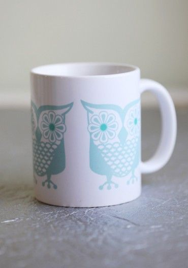 {morning owl mug} sweet!