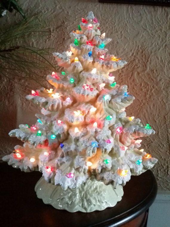 Made To Order 17 Frazier Fir Lighted Ceramic Christmas Tree