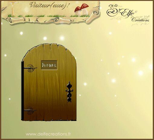 D'Elfe Créations - Accueil | Mais qui a fait ça ?! (Animations du site)