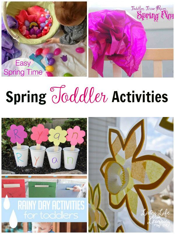 My daughter loves spring because it means we can head into the garden  have fun trying one of these spring toddler activities to make your little one happy