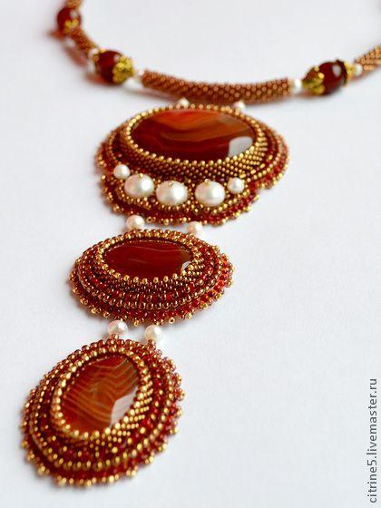 Fair Masters - handmade necklace Eldorado.  Handmade.