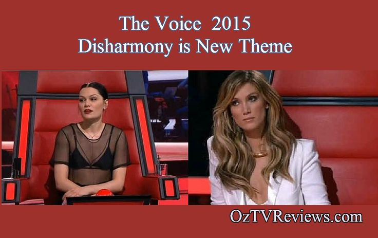 The Voice 2015 Week 2 Auditions.  #TheVoiceAu Disharmony is The New Voice Theme. Find out why at http://oztvreviews.com/2015/07/the-voice-2015-week-2-auditions/