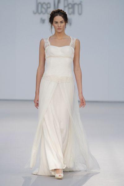 Vestidos de novia escote cuadrado 2017: Diseños que nunca pasan de moda Image: 7