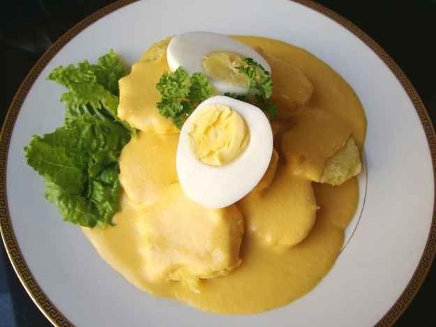 huevo y enslada muy delicioso