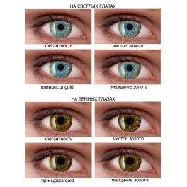 Ningaloo Gold - контактные линзы с УФ фильтром