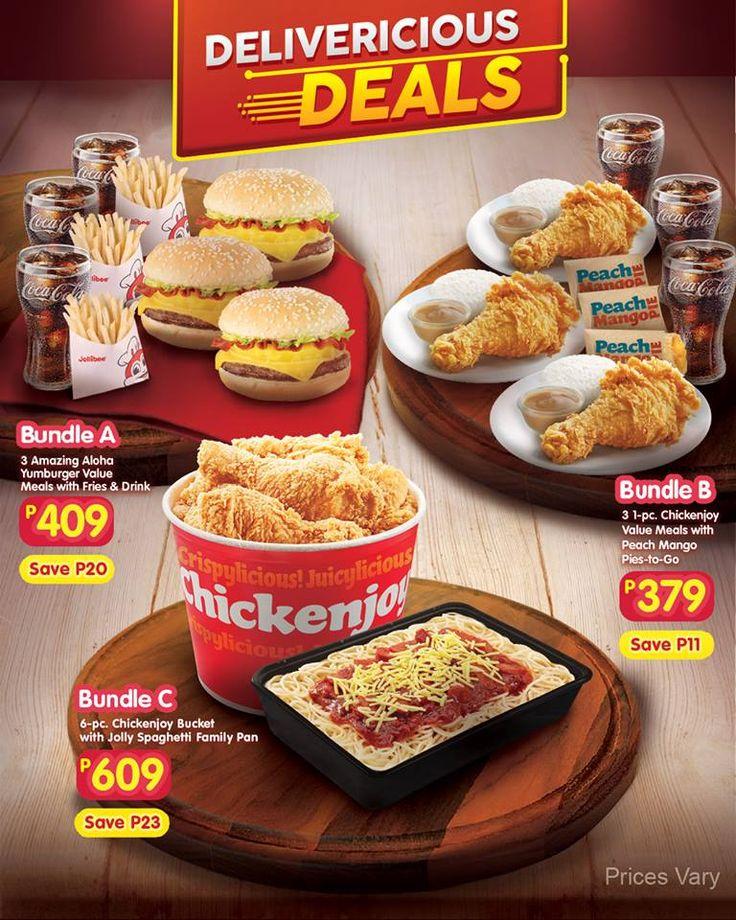 Jollibee menu chicken bucket price 2019 en 2020