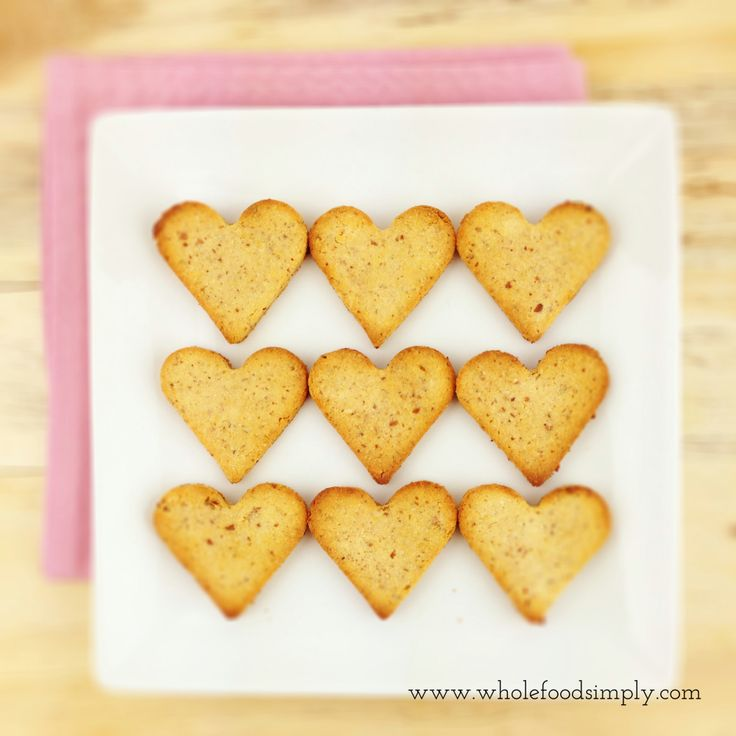 Cookies. Simple and delicious. Free from gluten, grains, dairy and refined sugar. Enjoy.