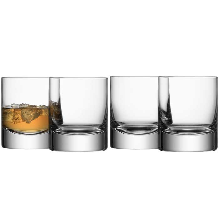 Beautiful Heavy Weighted Rocks Glasses