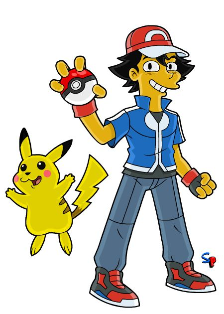 Ash Ketchum (from Pokémon XY series)             Well Pokémon Go seems to be on everyone's mind right now, so I figured, why not do the new...