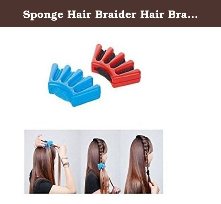 Sponge Hair Braider Hair Braiding Machine French Braider Hair Tool by Yo-Yo2015. Features: The hair braider can braid perfect of any hair type-such as straight-curly-thick or fine. It can create a French Braid is easy as lacing up a boot. Now anyone can make a professional looking French Braid in no time-with this easy to use braiding tool. Description : Item Type:Hair braider Product Material: PP + sponge Color: At random Size:9 cm x 5 cm Weight:About 25g Package Included: 1 X Hair…