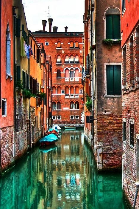 Venice - the colors in this!