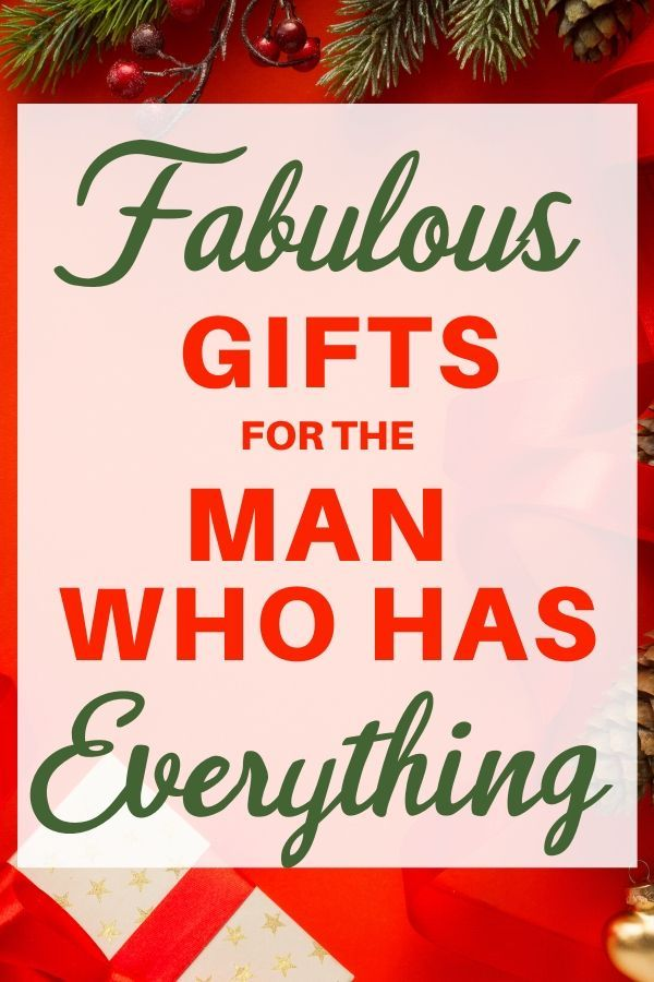 Christmas Gift Ideas For Husband Who Has Everything 2020 Gifts For Old Men Christmas Gifts For Men Christmas Gifts