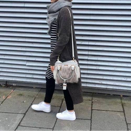 sporty hijab adidas shoes