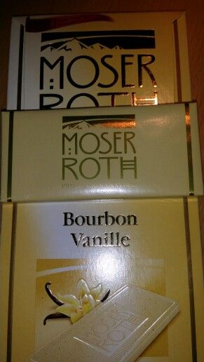 Probably the best white chocolate: Moser Roth distributed by ALDI