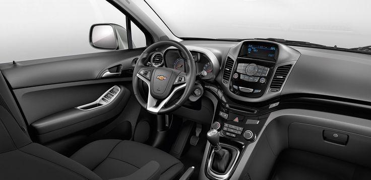 Chevrolet Orlando - Descubre el confort de tu monovolumen
