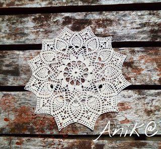 Anika, vagy amit akartok: És megint! Terítő minták.