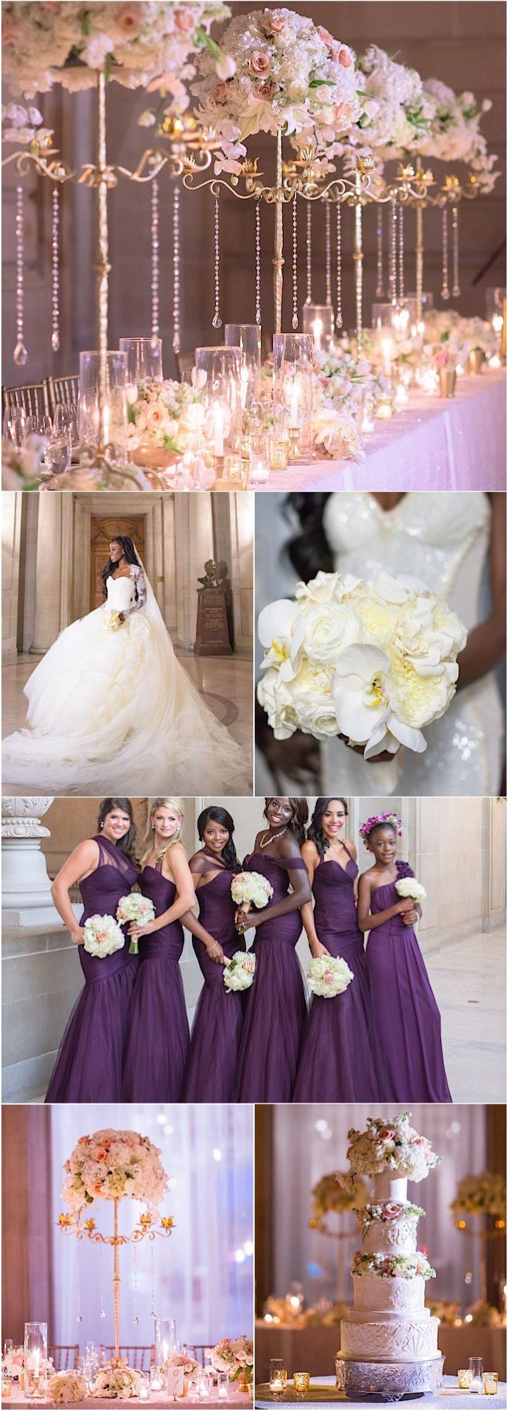 Featured Photographer: Vero Suh; Glamorous ballroom wedding theme