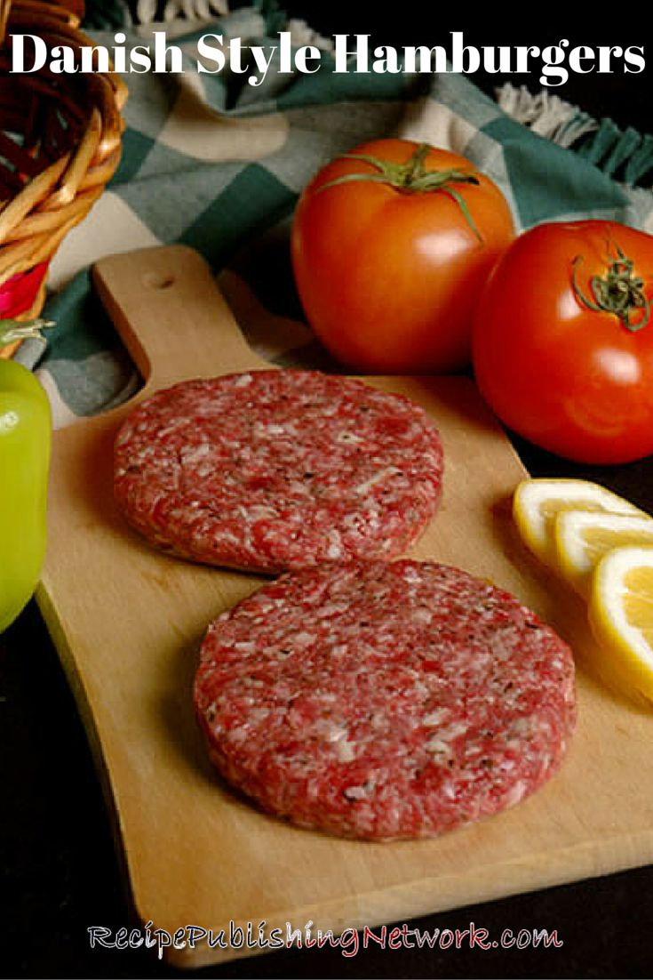 We know many wonderful things come from Denmark and the country is steeped in history and is a very important part of the European Union but did you know they also make great burger recipes like the one inspired below.
