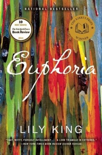 Euphoria by Lily King is one of our top books worth reading this summer. Any book lovers looking to escape will get lost in this novel's tropical setting.
