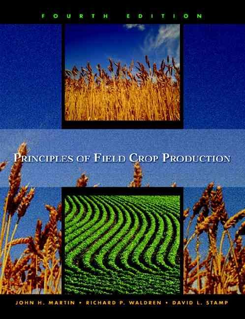 Precision Series Principles Of Field Crop Production