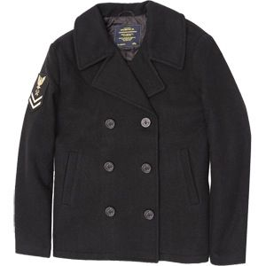 Peacoat note rate on right Boatswain PO2. Some rates were right arm rates.RIGHT ARM RATES--established in 1841 and disestablished 2 April 1949, originally signified men of the Seaman branch. During WWII these rates included Boatswains Mate, Turret Captain, Signalman, Gunners Mate, Fire Controlman, Quartermaster, Mineman, and Torpedomans Mate. Other ratings wore rates on the left sleeve.