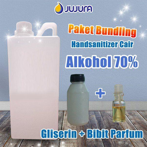 Beli Paket Handsanitizer Cair Hasil Jadi 1 Liter Alkohol 70 Persen Gliserin Bibit Parfum Hand Sanitizer By Makekimia Hand Soap Bottle Soap Bottle Soap