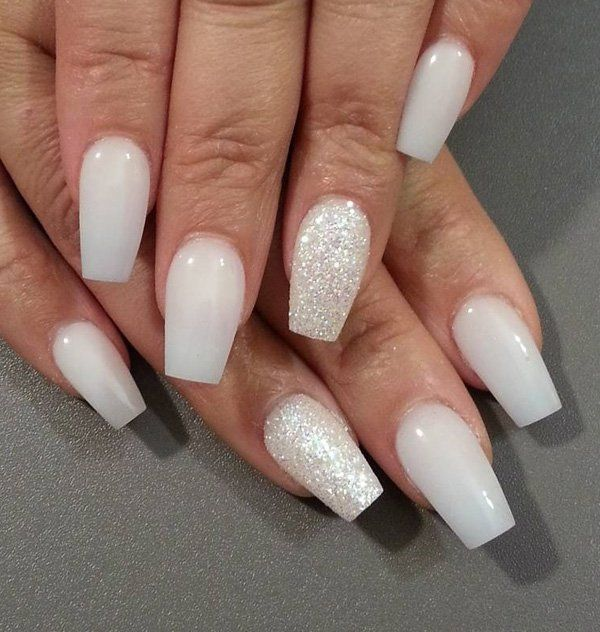 50 Coffin Nail Art Ideas Coffin Nails White Coffin Nails Gel Nails