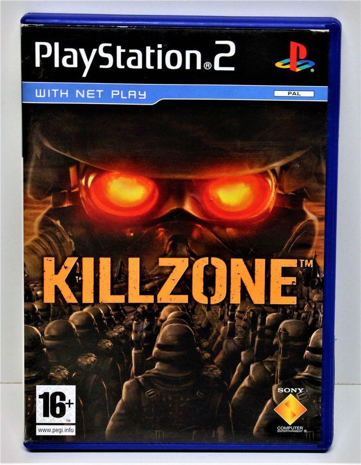 PLAYSTION 2 KILL ZONE GAME PS2 GAMING COMPUTER PS1 PS2 PS3  VGC  Action Shooter