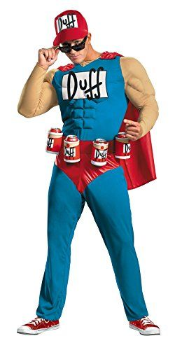 Duffman Classic Muscle Costume  XLarge  Chest Size 4246 -- Check this awesome product by going to the link at the image.