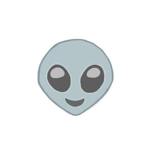 alien, overlay, and emoji image