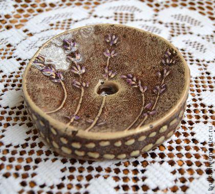 Ванная комната ручной работы. Ярмарка Мастеров - ручная работа Лавандовая мыльница. Handmade.