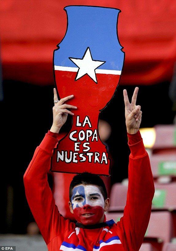 Copa America 2015 Chile 2. Ecuador 0.