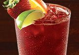 Yummy :)))  Outback Steakhouse New South Wales Sangria recipe. This is the very best sangria i have ever tried:  OUTBACK NEW SOUTH WALES SANGRIA  4 oz Little Boomey Australian Cabernet wine 1/2 oz Red Sangria mix 1/4 oz Korbel Brandy 1 oz mango syrup 1 oz orange juice 3/4 oz pineapple juice