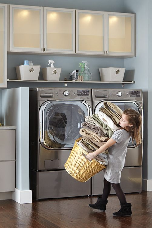 Bigger is better, especially when it comes to how many clothes you can wash at once. Spend less time doing laundry and more time relaxing with a mega capacity washing machine.