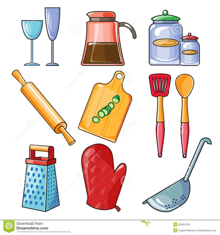 Image result for kitchen tools and equipment clipart